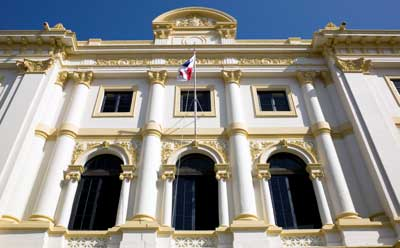 Photo of palace in Casco Viejo