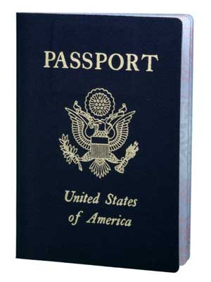Photo of a U.S. passport