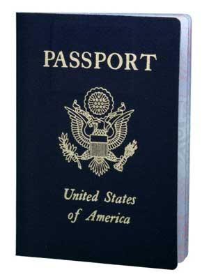 Photo of a U.S. passport