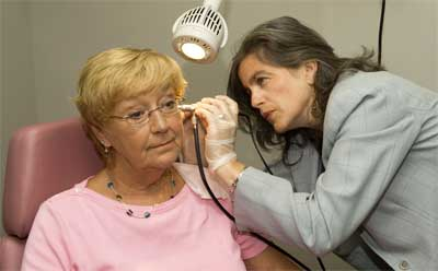 NIU's Speech-Language-Hearing Clinic provides about 2,000 hearing screenings each year.