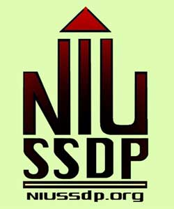 Logo of NIU Students for Sensible Drug Policy