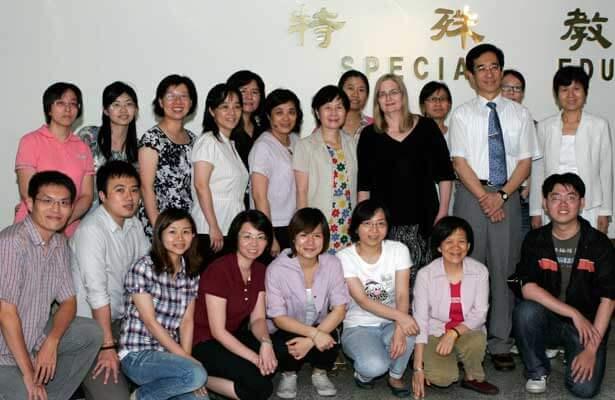 Paula Hartman and friends from National Taiwan Normal University