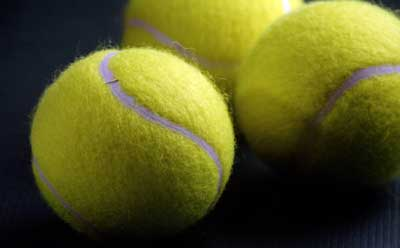 Photo of tennis balls