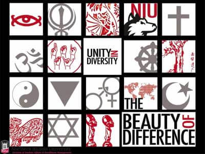 2011-2012 Unity in Diversity poster designed by Chris