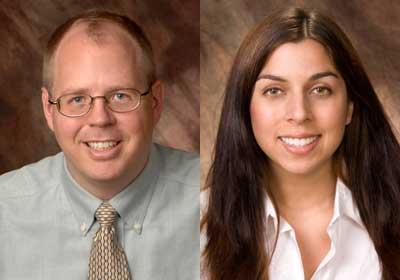 J.D. Bowers and Emily Prieto