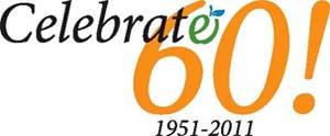 Celebrate 60! 1951-2011 logo