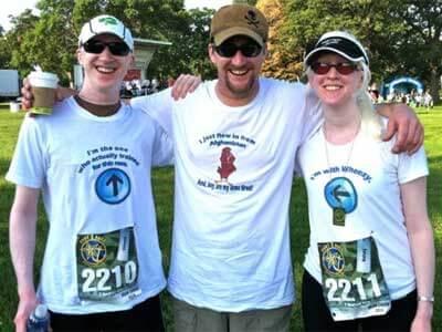 From left: Ed Dalton, Patrick Dalton and Kelsey (Dalton) Thompson
