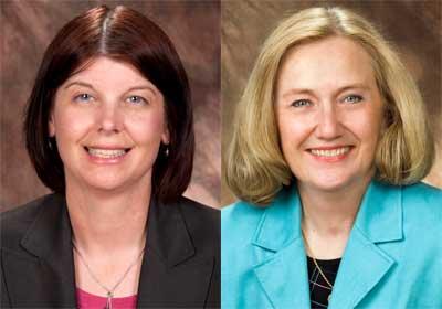 Lisa Freeman and Lori Clark