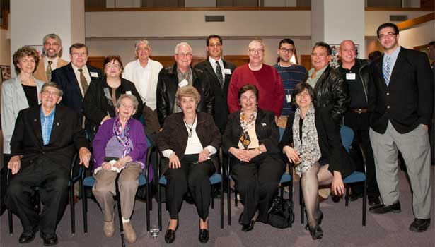 Several members of the Giorgi family attended Wednesday's event.