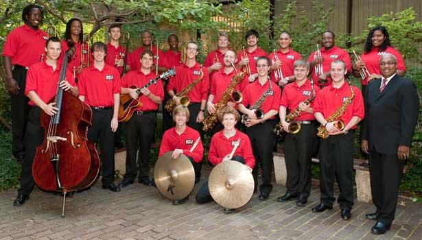 The 2011-2012 NIU Jazz Ensemble