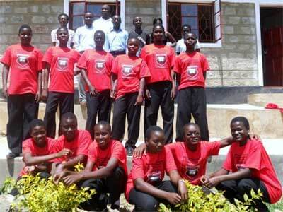Students, faculty and staff at JAMS in July of 2011.