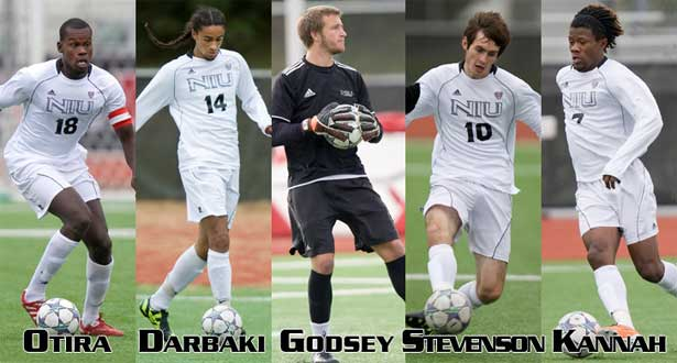 Five men's soccer players garner All-MAC nods