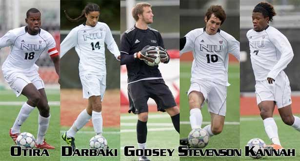 Five men's soccer players garner All-MAC nods