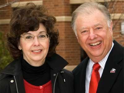 Barbara and John Peters