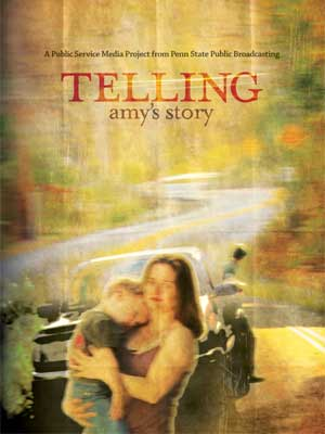 "Film poster for ""Telling Amy's Story"""