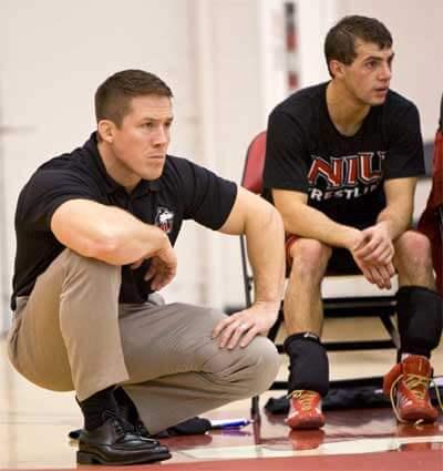Wrestling coach Ryan Ludwig