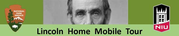 Logo of the Lincoln Home Mobile Tour