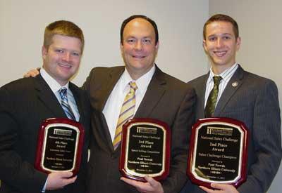 Corey Kravitz, Robert Peterson and Paul Nowak