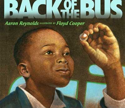 "Book cover of ""Back of the Bus,"" illustrated by Floyd Cooper"
