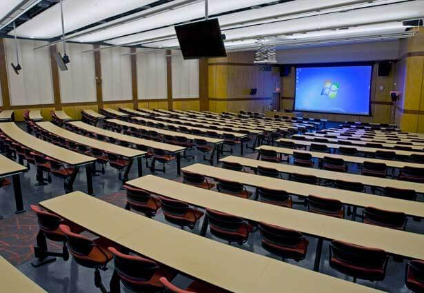 Cole Hall auditorium