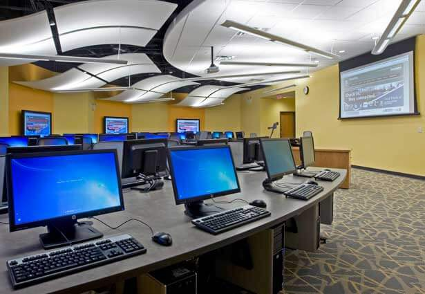 Cole Hall computer lab