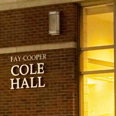 Cole Hall exterior