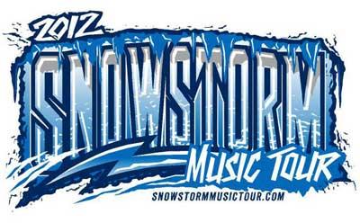 2012 Snowstorm Music Tour logo