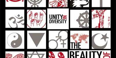 Unity in Diversity 2011-12 poster designed by Christopher Cooper