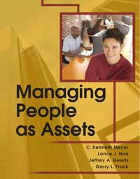 "Book cover of ""Managing People as Assets"""