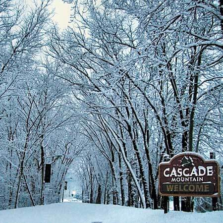 Photo of entrance to Cascade Mountain