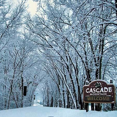 Photo of entrance to Cascade Mountain