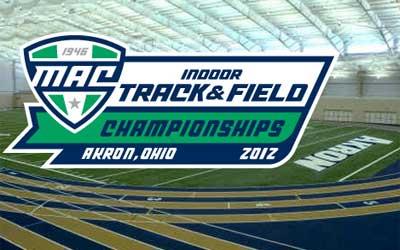 MAC Indoor Track & Field Championships 2012 logo