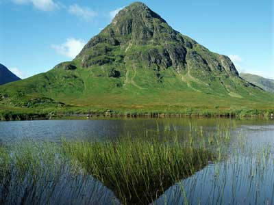 Photo of a mountain in Great Britain