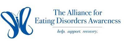 Logo of The Alliance for Eating Disorders Awareness
