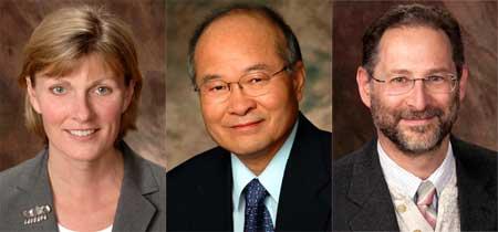 "Heide Fehrenbach, Chhiu-Tsu ""C.T."" Lin and Reed Scherer"