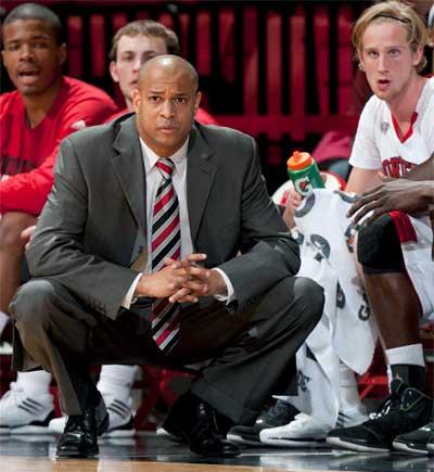 Head coach Mark Montgomery