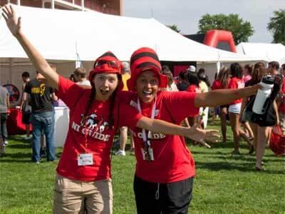 NI Guides enjoy the 2011 Huskie Bash