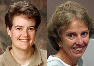 Jenny Parker and Nancy LaCursia