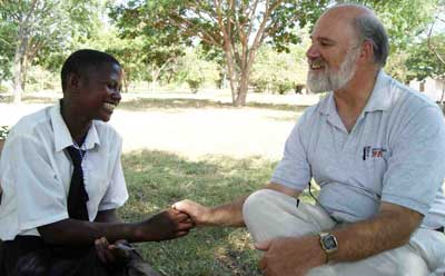 NIU Professor Kurt Thurmaier visited Nyegina in 2008. His experiences there inspired him to create the Tanzania Development Support project.