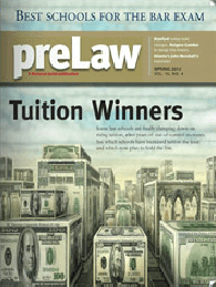 PreLaw Tuition Winners 2012