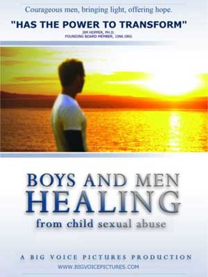 "Film poster for ""Boys and Men Healing"""