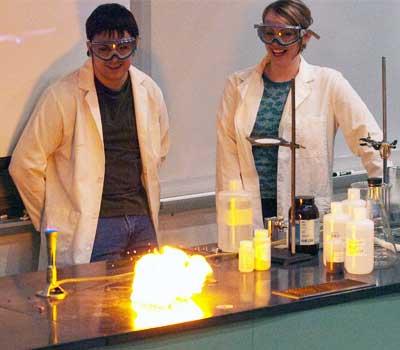 NIU Chem Club demonstration