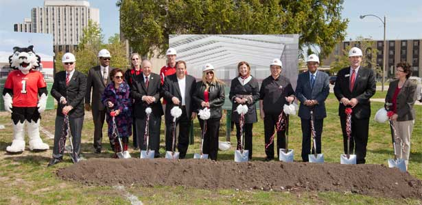 Chessick Practice Center groundbreaking