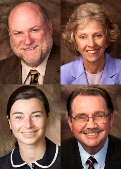 Terrence Bishop, Nancy LaCursia, Andrea Radasanu and Matthew J. Swan