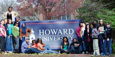 TRiO scholars visit Howard University