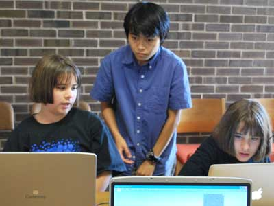 The DCL's Game Design camps teach students the technology behind their favorite games.