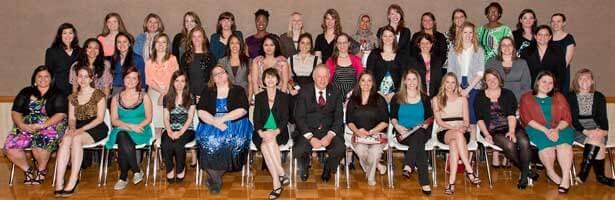 Outstanding Women Award winners