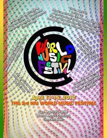 World Music Festival poster