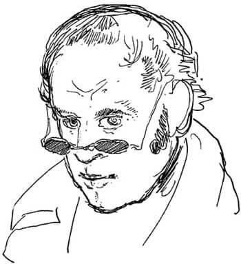 Rodolphe Töpffer: Self-portrait