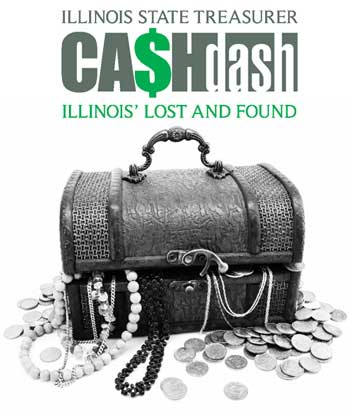 "Illinois State Treasurer ""CA$Hdash logo"""